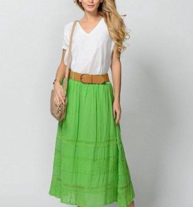 Новые юбки на резинке + (ремень на 42-44 разм)