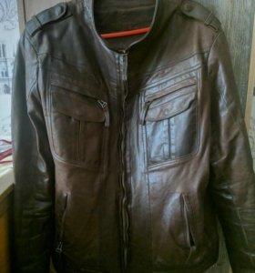 Куртка из верблюжей кожи