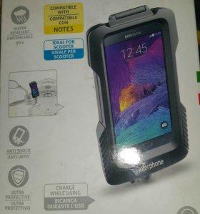 Держатель для Samsung Galaxy Note 4 на руль мотоци