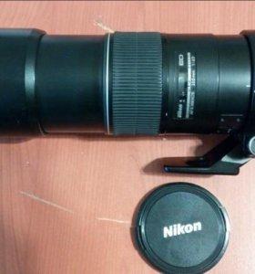 Обьектив Nikon af-s nikkor 300mm f/4D IF-E