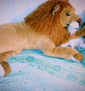 "Мягкая игрушка""Лев царь зверей"".Б/УТорг.Самовывоз."