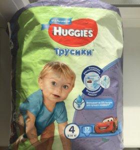 Huggies трусики 9-14 кг