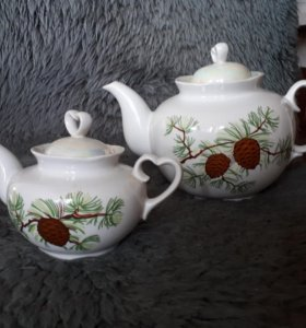 Чайник заварочный набор