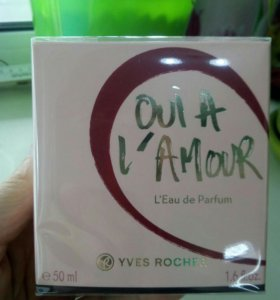 Парфюмерная вода OUI A L'AMOUR от Yves Rosher