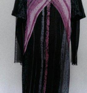 4 платья трикотаж
