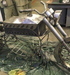 мангал мотоцикл