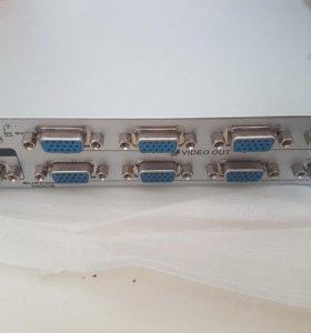 VGA Разветвлитель (Сплитер на 8 портов)
