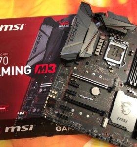 Материнская плата MSI Z270 gaming M3