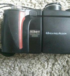 Nikon coolpix 4500 + Canon PowerShot G2 + Сумка
