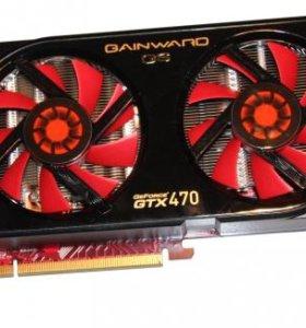 Видеокарта GeForce GTX 470 1.3Гб PCI-E