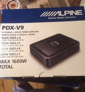 Усилитель Alpine  PDX-V9 новый