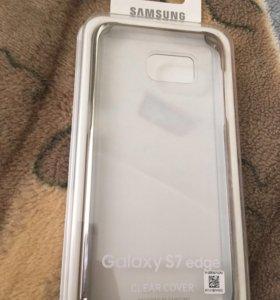 Новый Чехол Samsung S7edge Оригинальный
