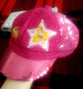 Шапка-кепка Winx