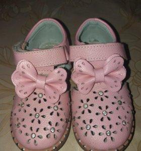 Туфельки девочки