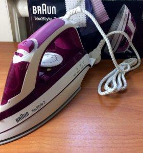 Новый утюг Braun TexStyle 3 2200Вт