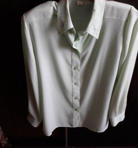 блуза из крепжоржета