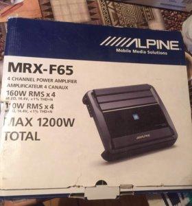Alpine MRX-F65 Усилитель новый