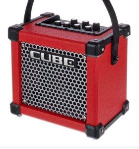 Комбик Roland micro cubе на гарантии