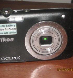 фотоапарат б-у отличном состояние цена за 300  руб