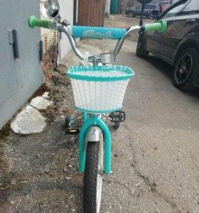 Детский велосипед Novatrack Butterfly 16