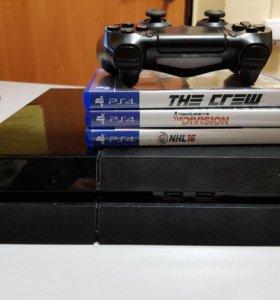 Игровая консоль PlayStation 4 500Gb Black