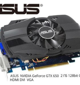 Видеокарта ASUS Nvidia GeForce GTX 650 2 Gb