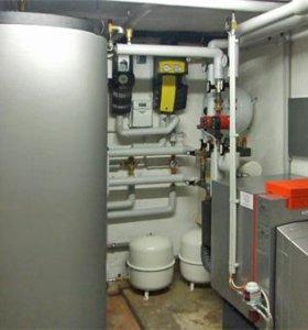 Ремонт газовых колонок, котлов отопления.