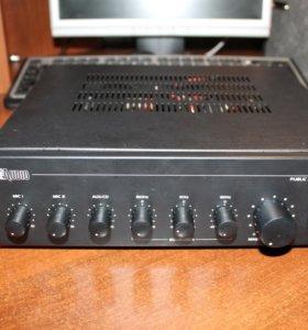 Усилитель микшер 60 Вт ProAudio AM860