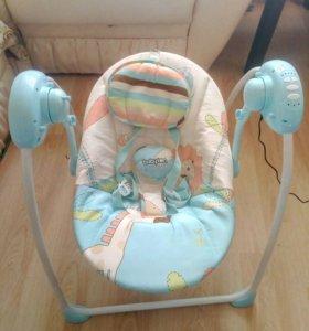 Кресло-качели Babytone Merry Blue