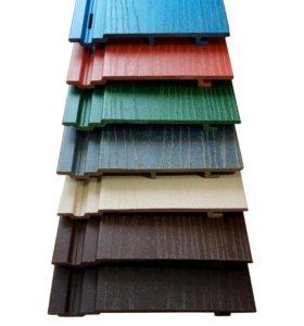 Фасадные панели из дпк сайдинг