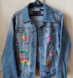Джинсовый комплект - куртка и джинсы BICSTAR
