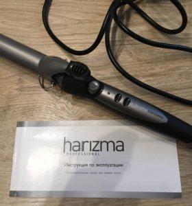 Плойка (щипцы) для завивки волос Harizma H10310