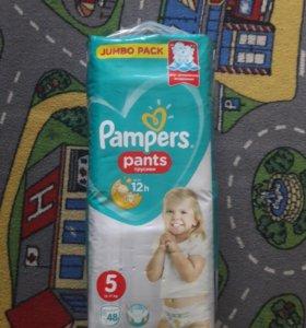 Pampers pants 5 48шт.