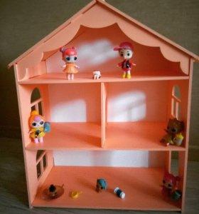 Домик для куколок LOL