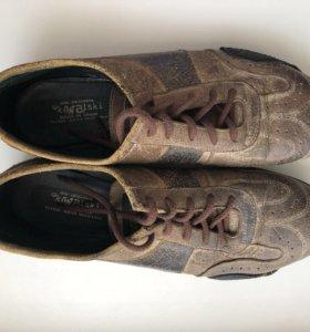 Кожаные кроссовки Kowalski
