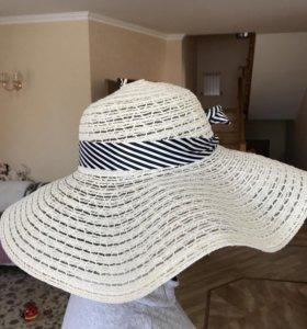 Шляпа пляжная новая