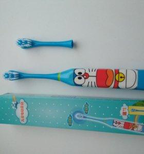 Электрическая зубная щетка для детей детская
