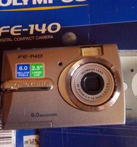 Фотоаппарат цифровой OlYMPUS FE- 140.