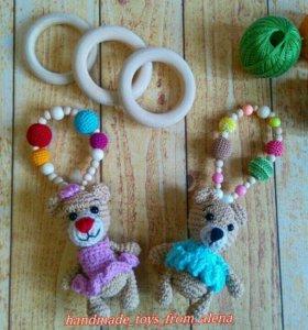 Вязанные игрушки ручной работы