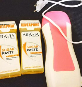 Паста для шугаринга Aravia+воскоплав