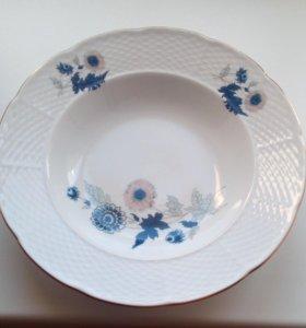 Тарелки фарфоровые, Чехословакия (18 штук)