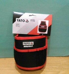 Сумка-карман для гвоздей и инструментов Yato YT-74