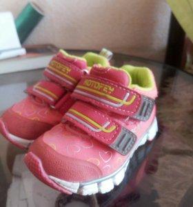 Туфли и красовки для девочки