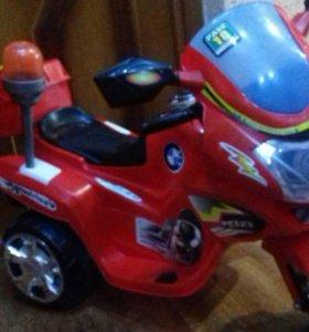 Мотоцикл детский (аккумуляторный)