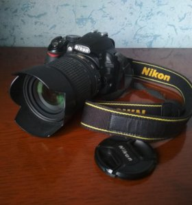 Фотоаппарат Nikon d3100 + объектив nikkor 18-105