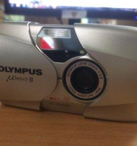 Фотоаппарат Olympus µ [mju:]-II