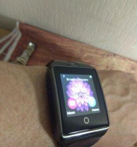 Умные часы Smart Watch Q18 черные