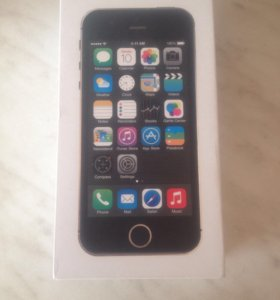 Коробка от iPhone 5s SG