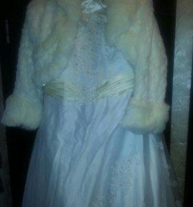 Свадебное платье. .