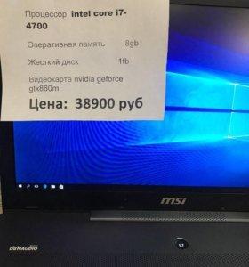 Ноутбук msi gs70